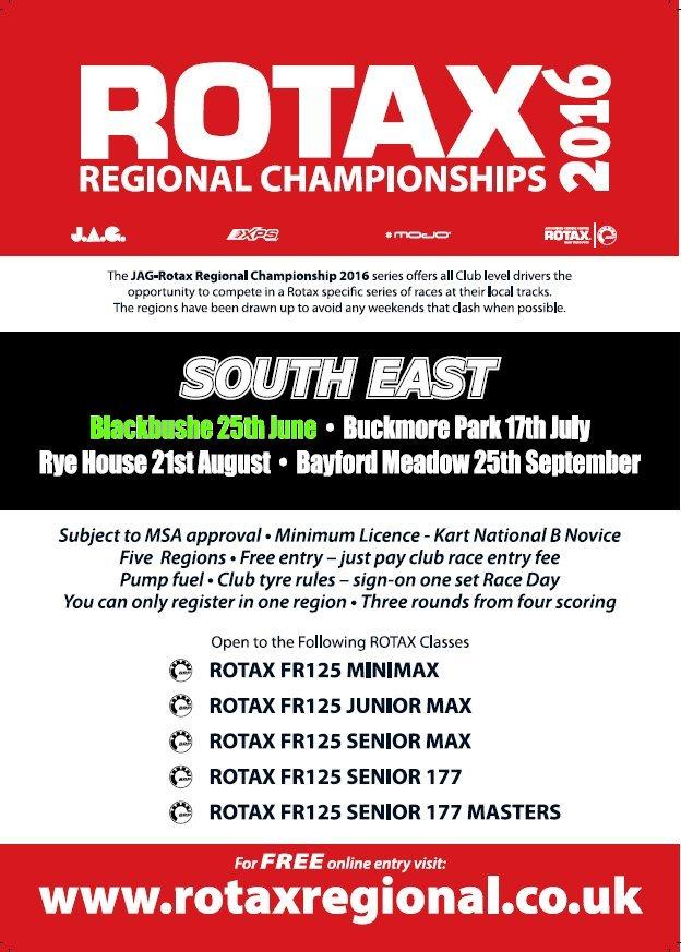 Rotax SE Regional Championship 2016